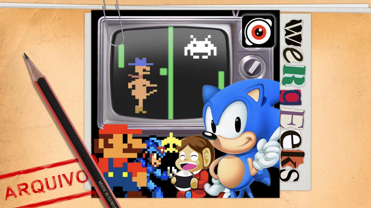 Ultrageek 60 (WeRgeeks) – História dos Games (até 16 BITs)