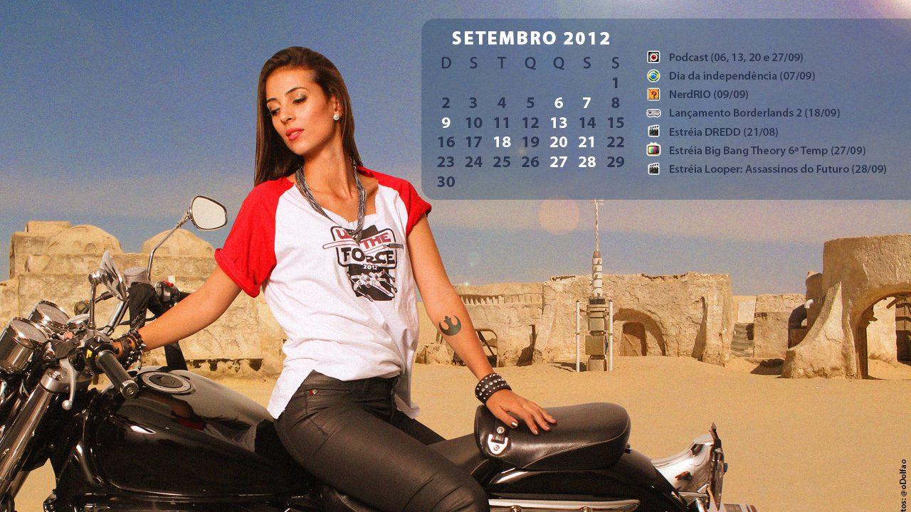 Calendário Geek – Setembro 2012