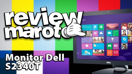 Review Maroto – Monitor Dell s2340t