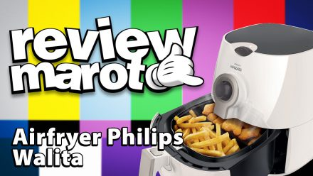 Review Maroto – Air Fryer Philips Walita