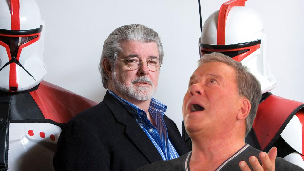 O dia em que William Shatner escrotizou George Lucas