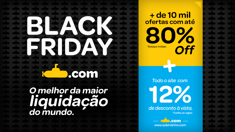 Black Friday 2013 no Submarino