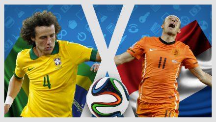 Brasil X Holanda – A Casa Geek