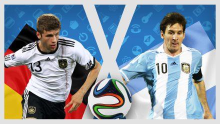 Alemanha X Argentina – A Casa Geek