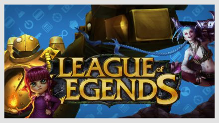 Jogando League of Legends com a CNB