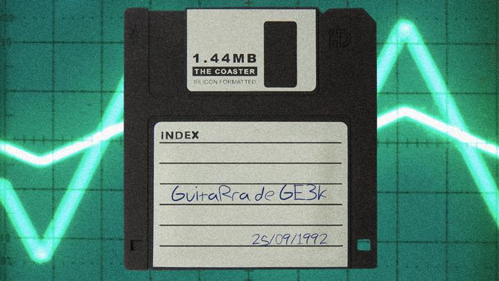 Música com disquetes… Conheça a verdadeira música geek!