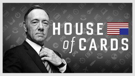 House of Cards e Como levar seu smartphone para o banho