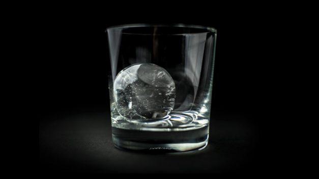 O gelo perfeito para seu drink