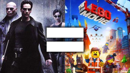 Matrix e Uma Aventura Lego são o mesmo filme