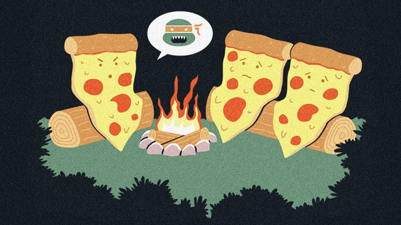 3 cortadores de pizza geeks