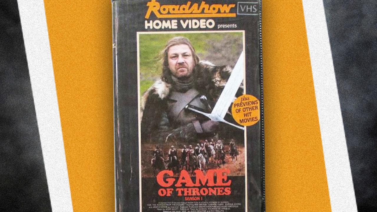 Como seriam as capas de séries e filmes atuais em VHS