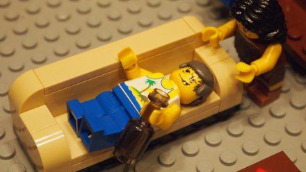 Peças de Lego de gelatina DE VODKA!