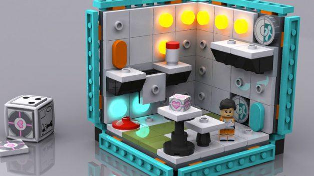 Jogos FPS versão LEGO?