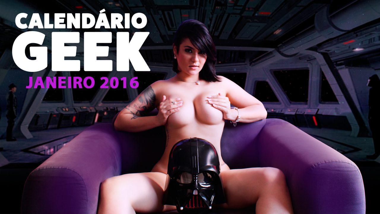 Calendário Geek 2016 – Janeiro