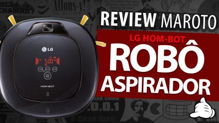 Review Robô Aspirador LG Hom-bot