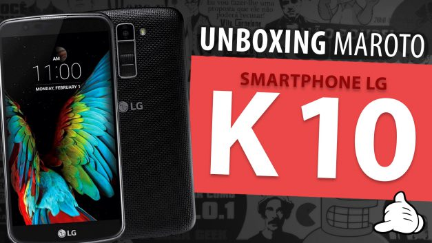 Unboxing LG K 10