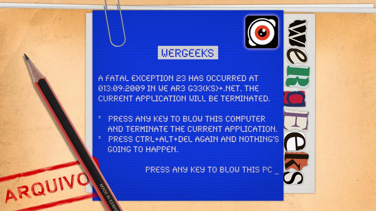 Ultrageek 23 (WeRgeeks) – Quando os gadgets não funcionam!