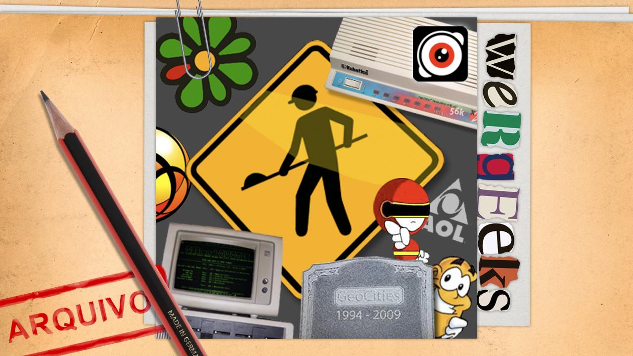 Ultrageek #40 (WeRgeeks) – Internet nos anos 90