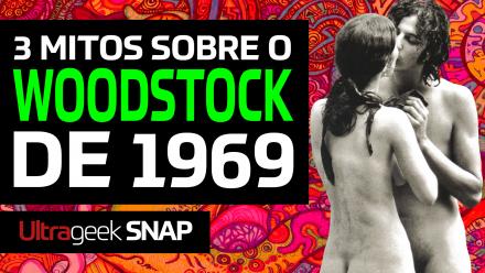 3 Mitos sobre o WOODSTOCK de 1969