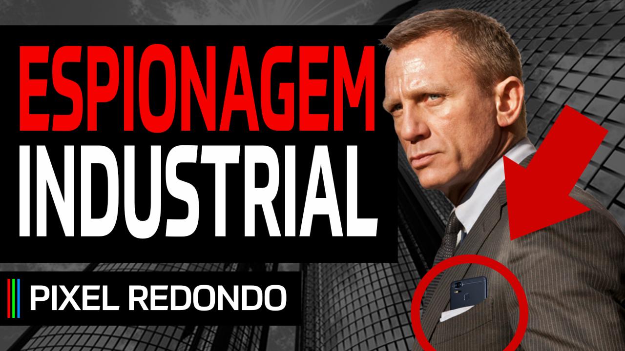 Pixel Redondo #01 – Espionagem industrial