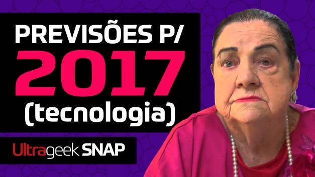 PREVISÕES de tecnologia para 2017