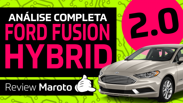 Review Ford Fusion Híbrido