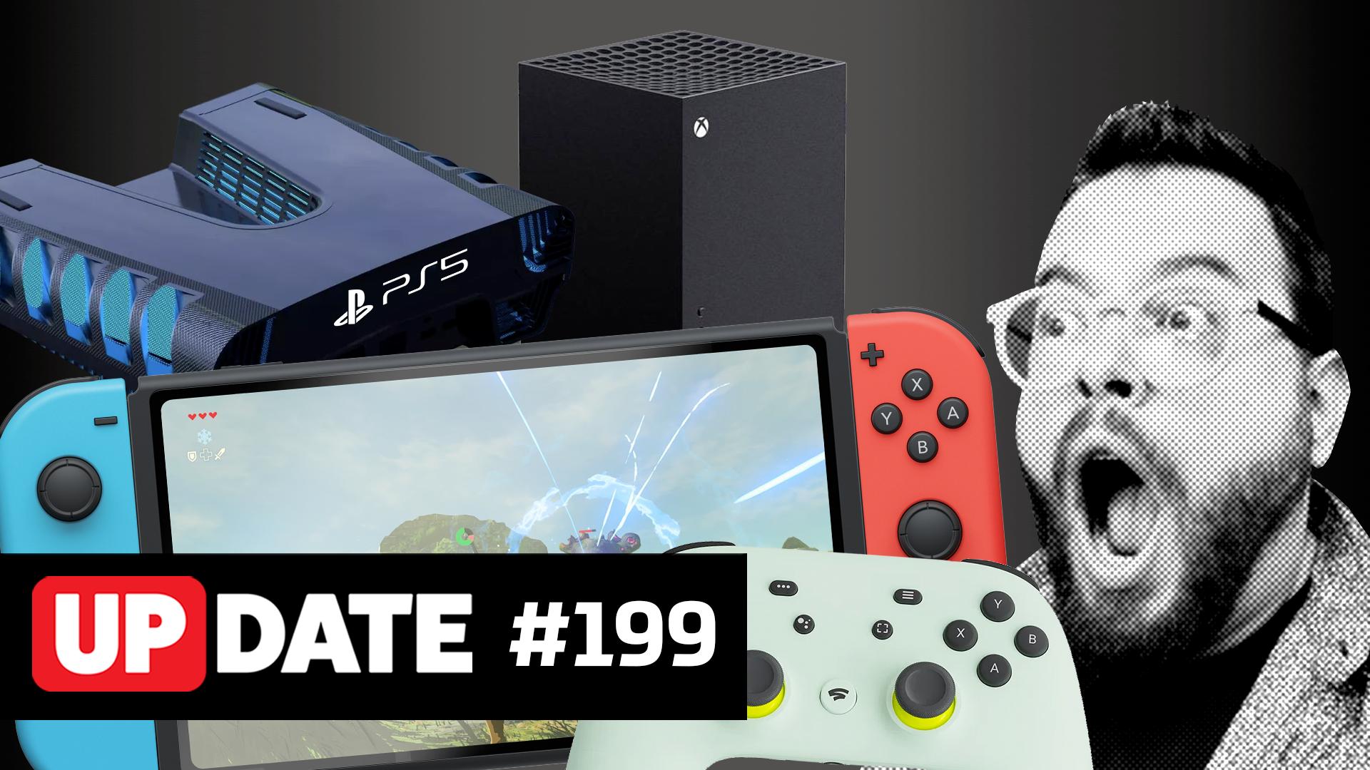 Update 199 – Nova geração de consoles