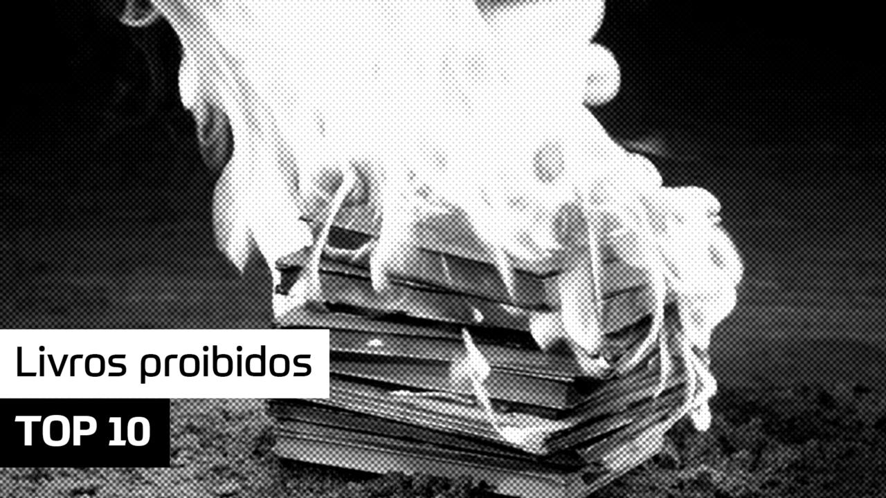 TOP 10 – Livros proibidos