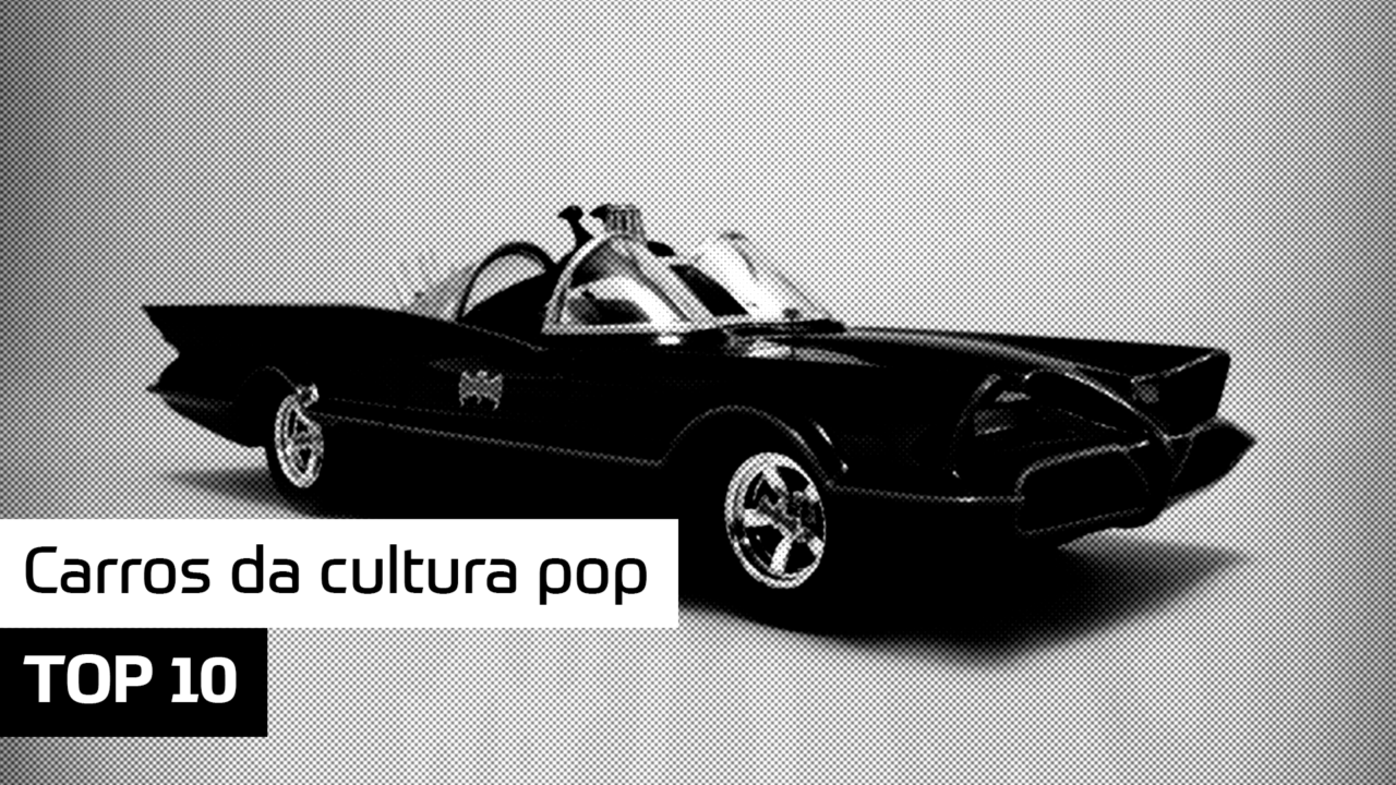 TOP 10 – Carros da cultura pop