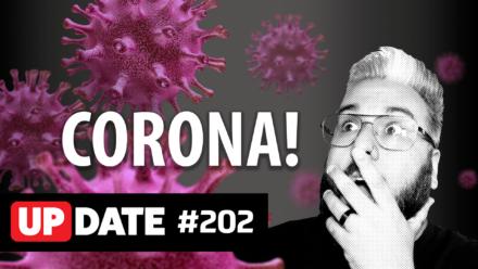 Update 202 – Coronavírus infectou o mercado de tecnologia